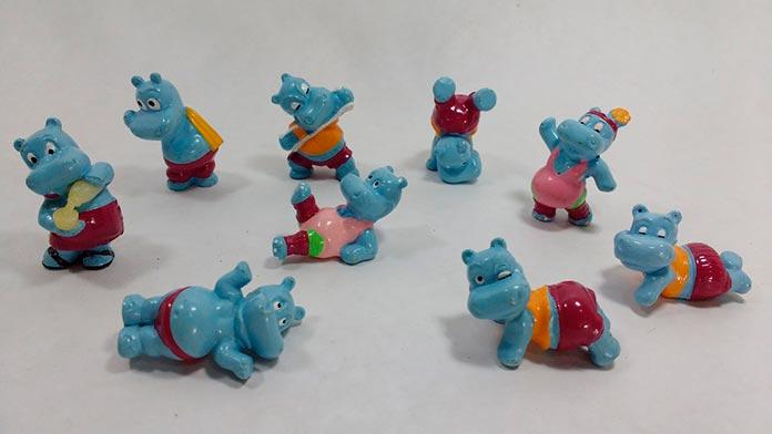 Hipopótamos Kinder Ovo