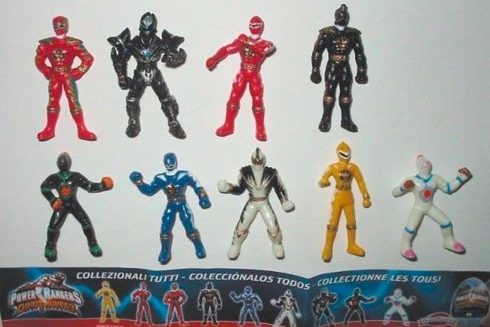 Power Rangers Kinder Ovo