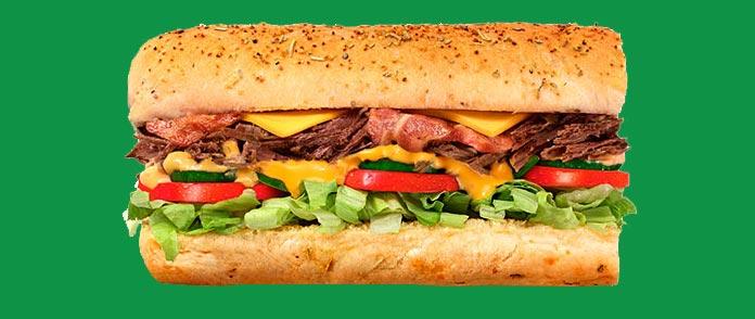 Subway Preços Sanduíches 30cm