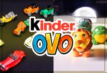Surpresas Kinder Ovo