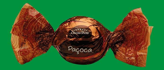 Trufa Cacau Show Paçoca