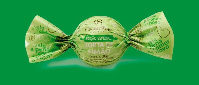 Trufa Cacau Show Torta de Limão