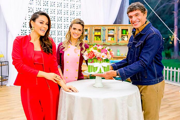Nadja Haddad, Beca Milano e Olivier Ankier, Bake Off Brasil 2018 22/09