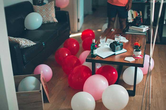 Espaço para Festa de 15 Anos Simples