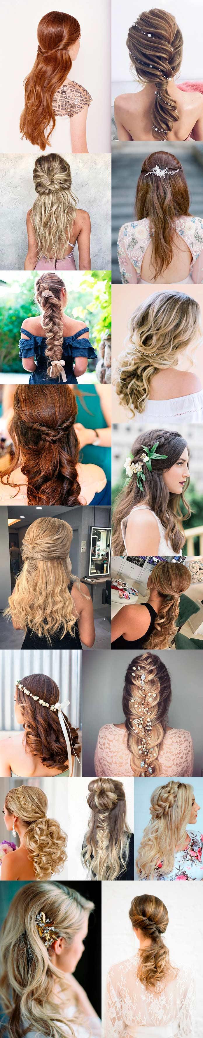 Inspirações de Penteados para Debutantes de Cabelo Longo