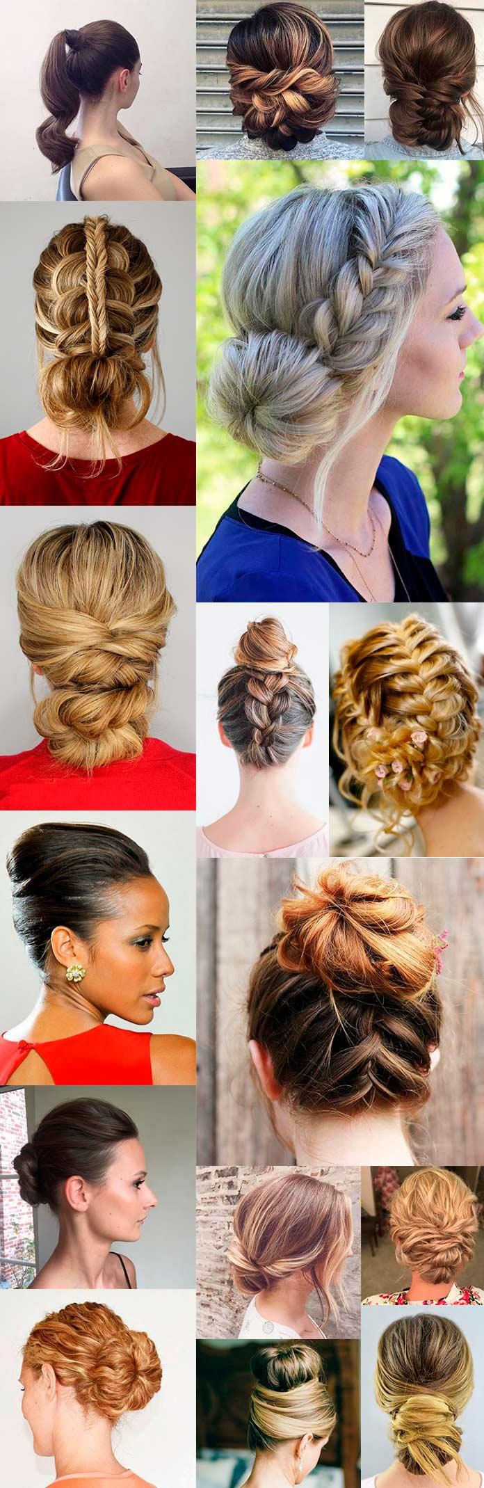 Inspirações de Penteados Presos para Debutantes