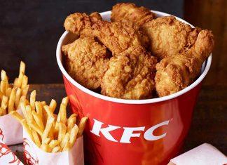 KFC Preços