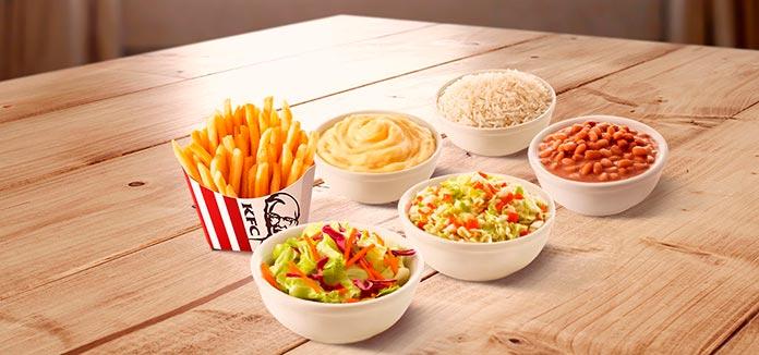 KFC Preços Almoço