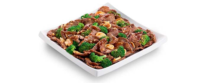China in Box Cardápio Pratos com Carne