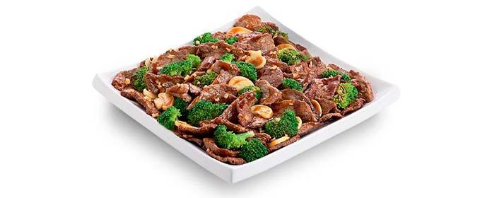 China in Box Cardápio Pratos com Carne