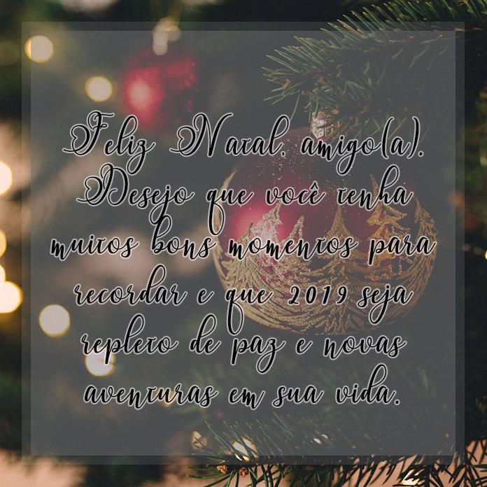 Mensagem De Natal E Ano Novo 2018 Para Amigos Família Namoradoa