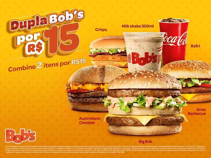 Promoção Dupla Bob's