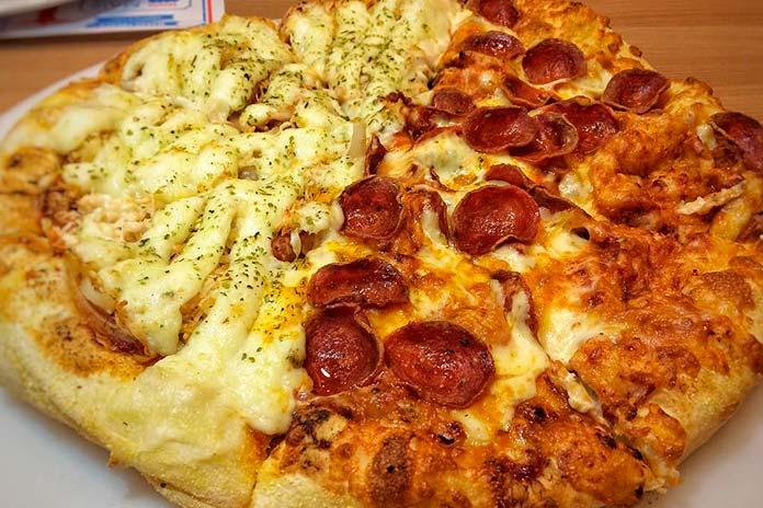 Sabores de Pizzas Domino's