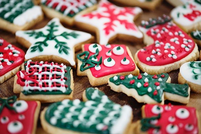Biscoito de Natal com Pasta Americana