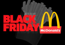Black Friday McDonald's 2019