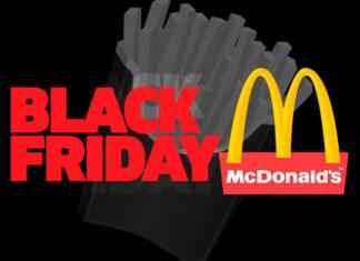 Black Friday McDonald's 2019