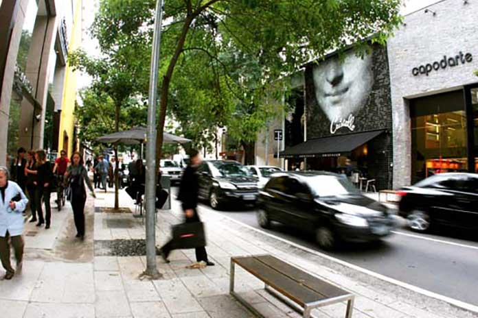 Locais da Rua Oscar Freire
