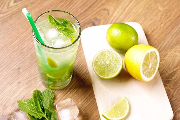 Sucos com Limão