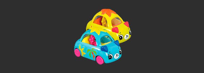 McLanche Feliz Abril 2019 Brinde 05 Shopkins Cutie Cars