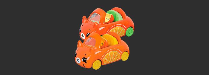 McLanche Feliz Abril 2019 Brinde 06 Shopkins Cutie Cars
