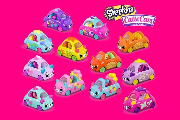 Coleção Shopkins Cutie Cars McLanche Feliz Abril 2019