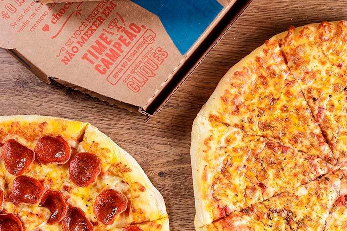 Pizza em Dobro 2x1