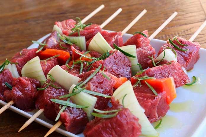Receitas de Espetinhos de Carne