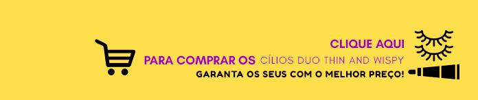 Comprar Cílios Duo Thin And Wispy
