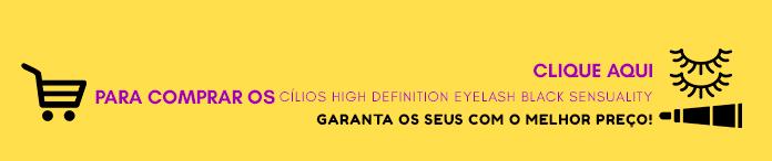 Comprar Cílios High Definition Eyelash Black Sensuality