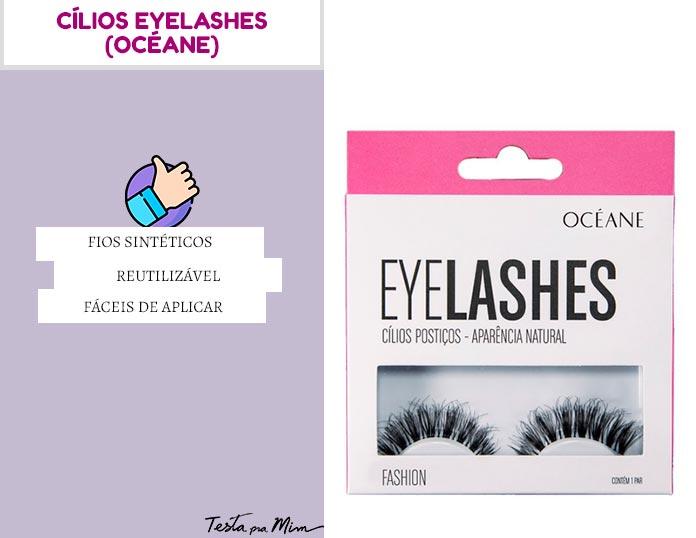 Cílios Eyelashes Océane