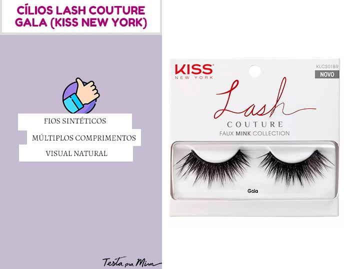 Cílios Lash Couture Gala Kiss New York
