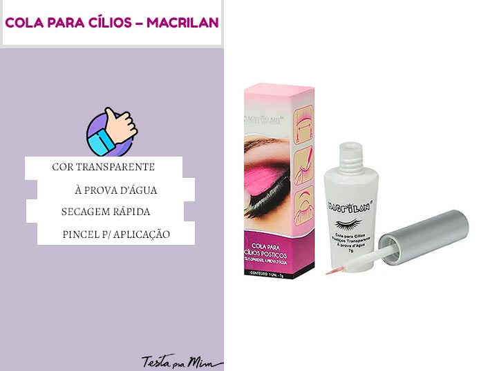 Cola para Cílios Macrilan