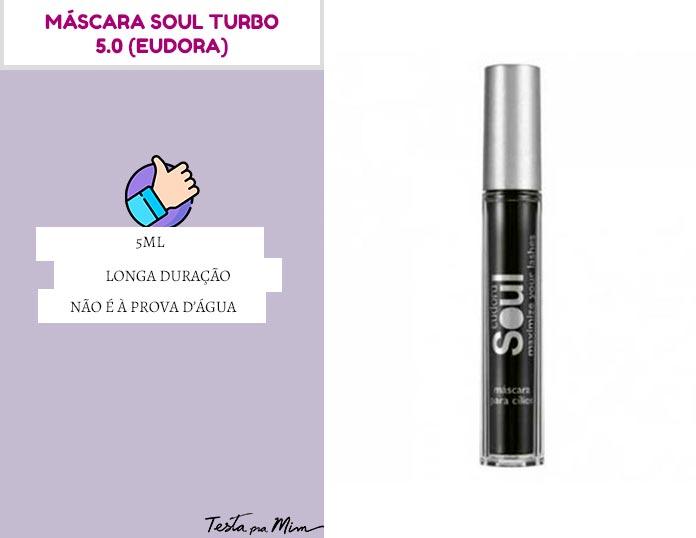 Máscara Soul Turbo 5.0 Eudora
