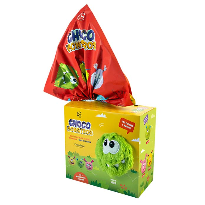 Ovo Choco Monstros Bola (160g)