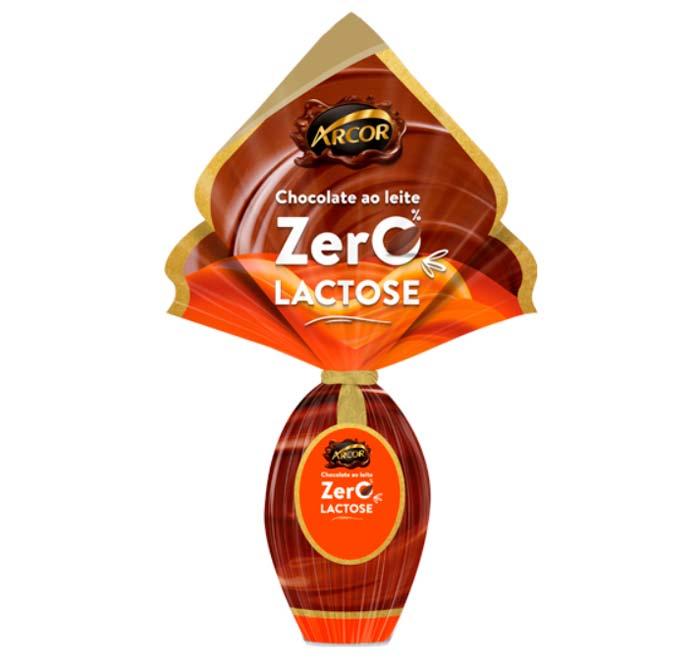 Ovo de Páscoa Zero Lactose Arcor