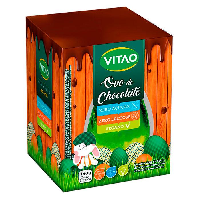 Ovo Vitao Kids Zero Açúcar, Zero Lactose e Vegano 180g