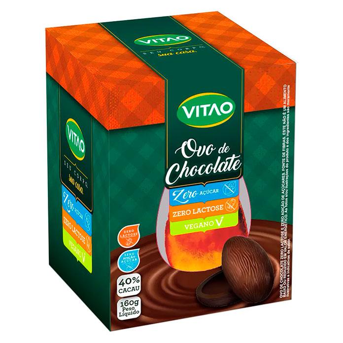 Ovo Vitao Zero Açúcar, Zero Lactose e Vegano 180g