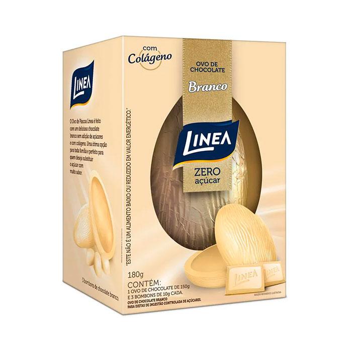 Ovo Linea Zero de Chocolate Branco 180g