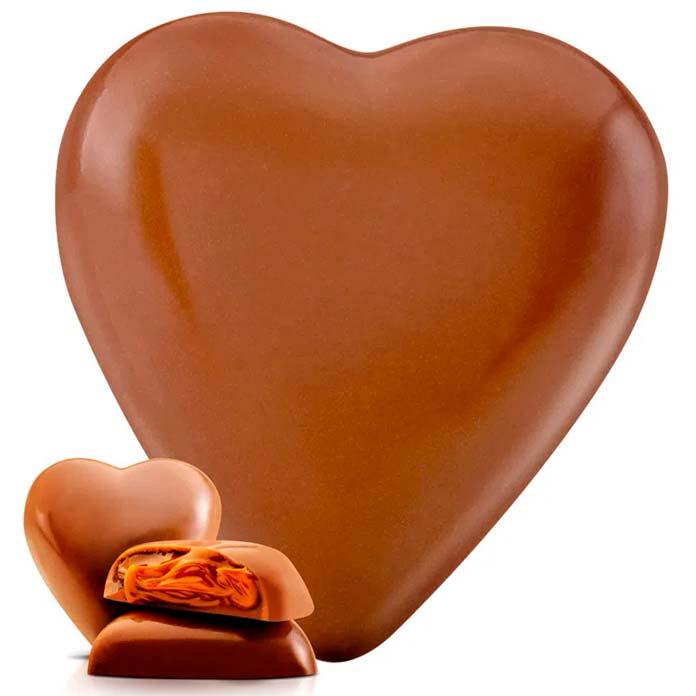Coração de Chocolate ao Leite (250g)