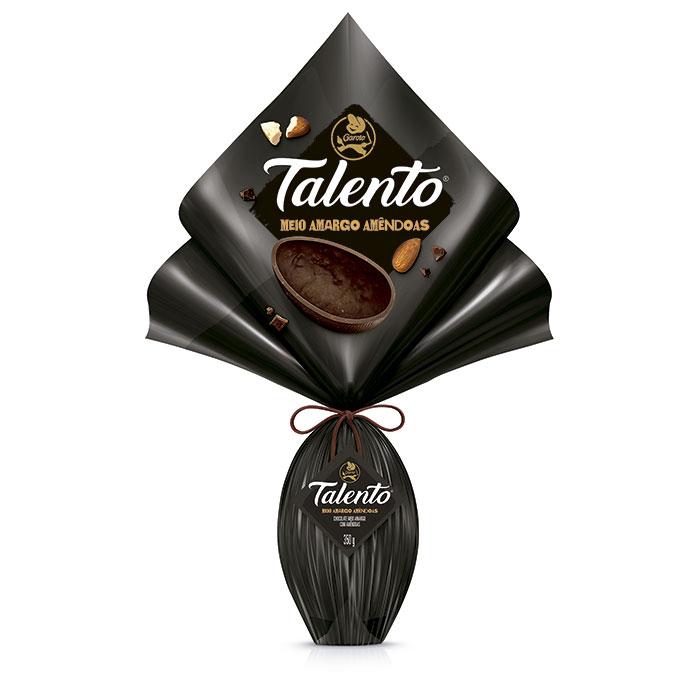 Ovo Talento Meio Amargo Garoto 350g