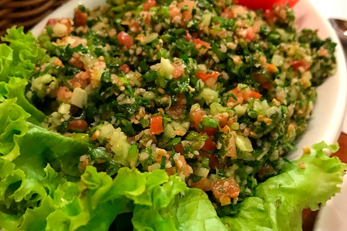 Saladas do Cardápio Almanara
