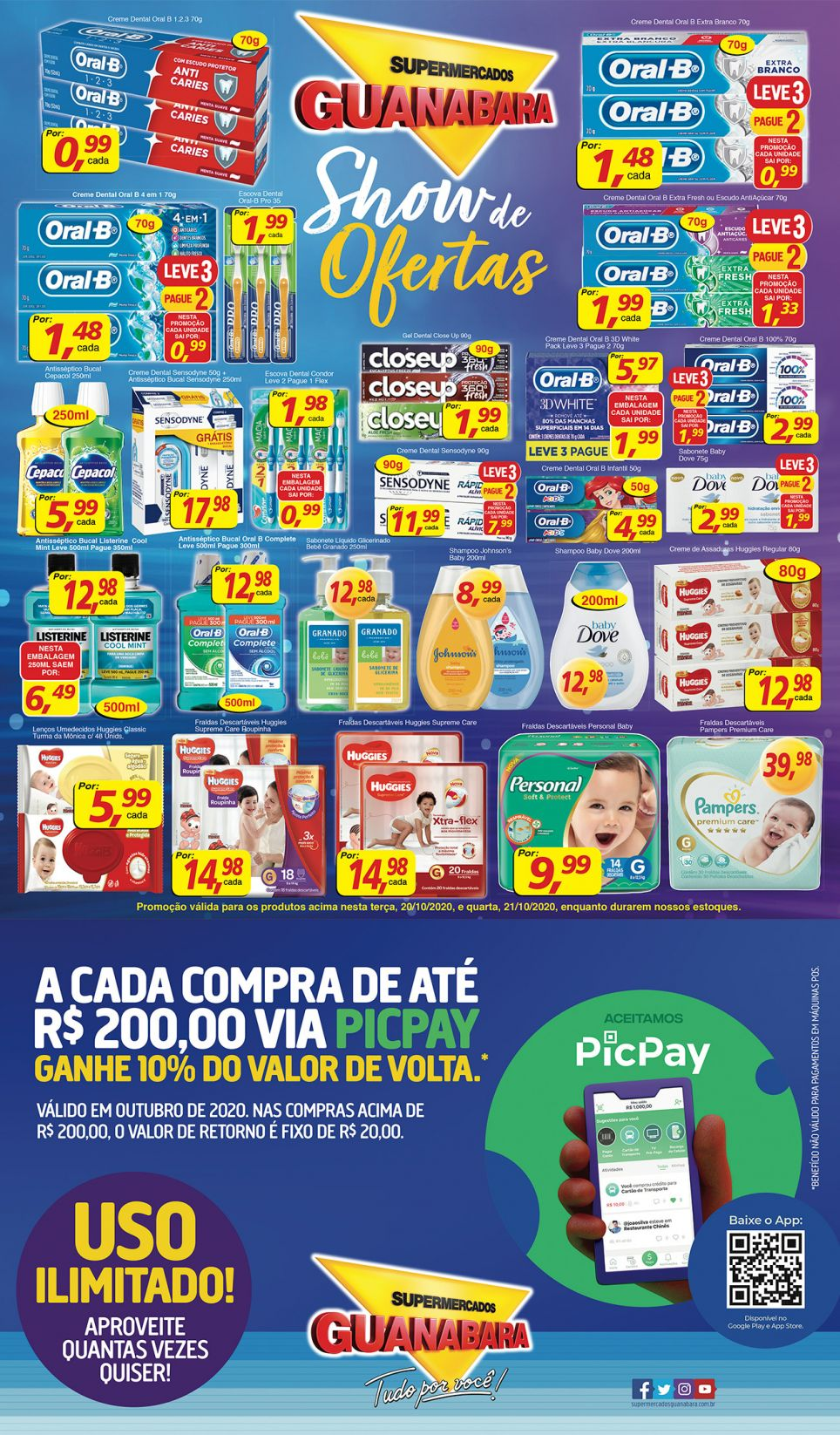 Encarte Guanabara 20/10/20 08