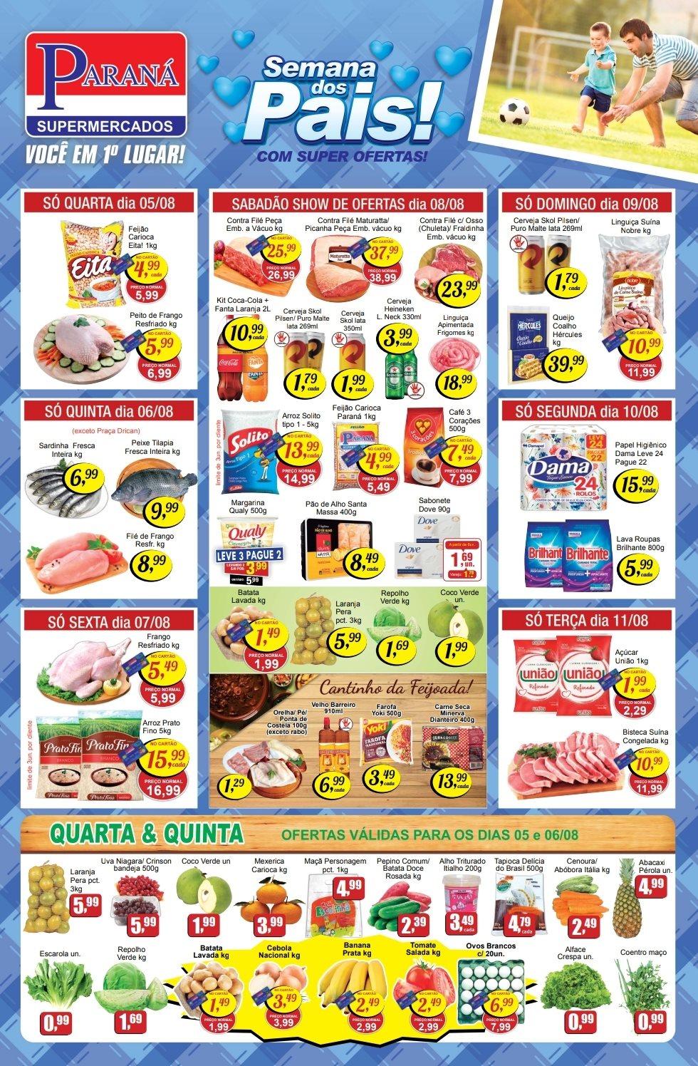 Encarte Supermercados Paraná 05/08/20 01