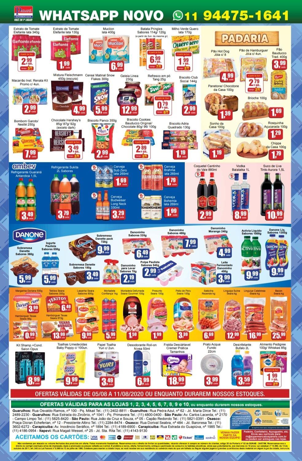 Encarte Supermercados Paraná 05/08/20 02