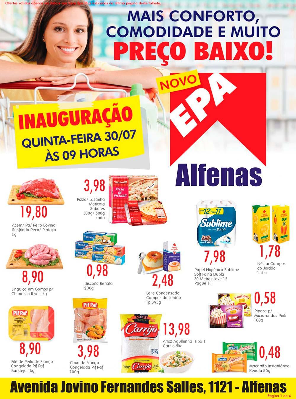 Folheto Epa Alfenas 30/07/20 01