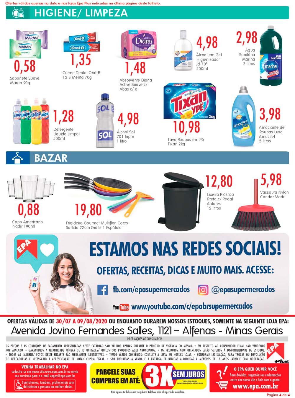 Folheto Epa Alfenas 30/07/20 04