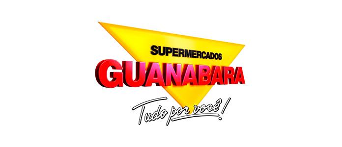 Logo dos Supermercados Guanabara