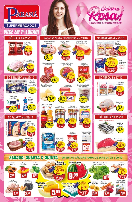 Encarte Supermercados Paraná 23/10/20 01