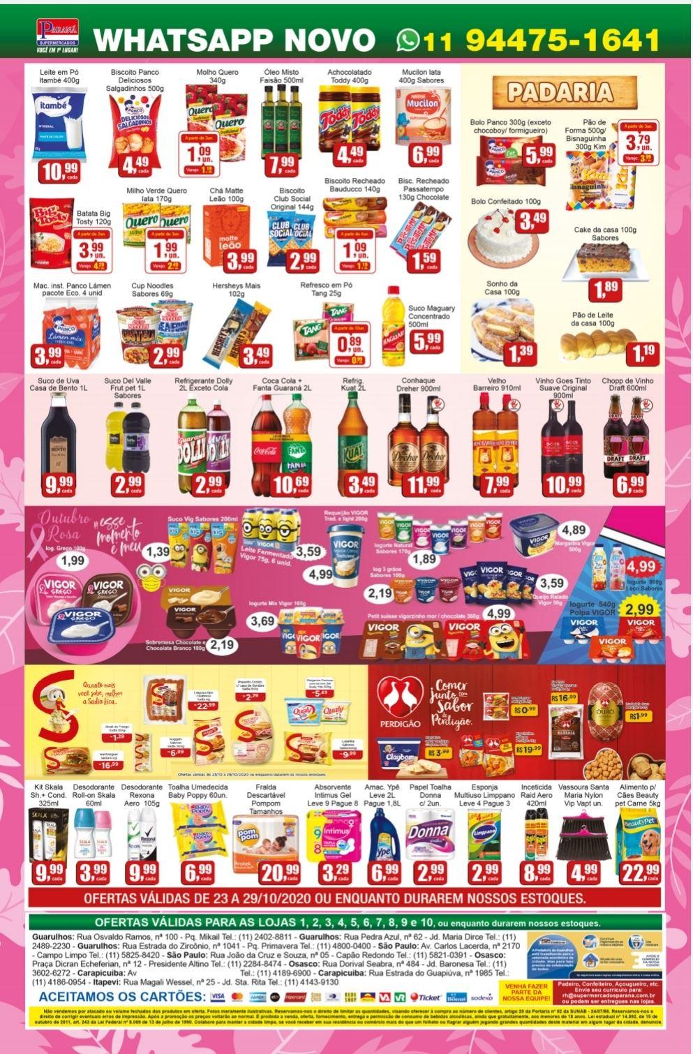 Encarte Supermercados Paraná 23/10/20 02